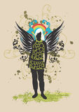 Woman with wings Royalty Free Stock Photo