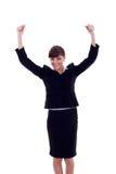 Woman winning Stock Images
