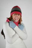 Woman winter Stock Photos