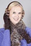 Woman at winter Royalty Free Stock Image