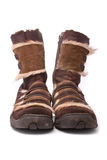 Woman winter boots Stock Photography