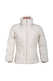 Woman winter jacket Stock Images