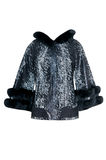 Woman winter jacket Royalty Free Stock Photos