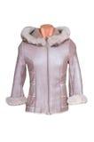 Woman winter jacket Royalty Free Stock Image