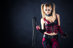 Free Woman With A Whip Stock Image - 38109051