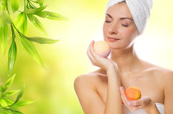 Free Woman With Aroma Soap Stock Photo - 9246770