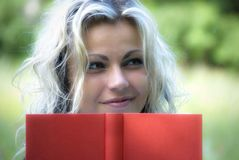 Free Woman With Book Royalty Free Stock Photo - 9487015