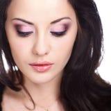 Woman With False Eyelashes Royalty Free Stock Image