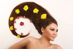 Free Woman With Flowing Hair Royalty Free Stock Image - 8208896