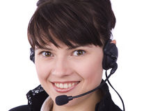 Free Woman With Headset Stock Image - 11831971