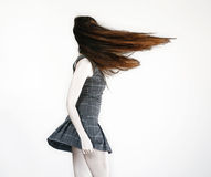 Woman With Long Hair Stock Photography
