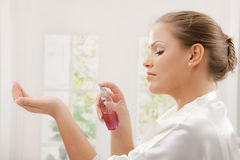 Free Woman With Perfume Royalty Free Stock Image - 11604516