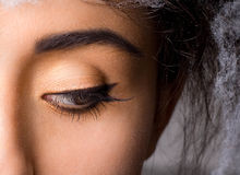 Free Woman With With Long Lashes Royalty Free Stock Photography - 19289547
