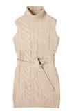 Woman wool dress Royalty Free Stock Photo