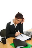 Woman in work Stock Photo