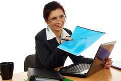 Woman in work stock photo