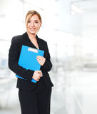Woman at work royalty free stock photography