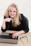 Woman at work Stock Photos