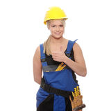 Woman worker Royalty Free Stock Images