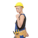 Woman worker Royalty Free Stock Photography