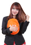 Woman worker Stock Images