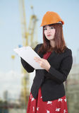 Woman worker Stock Photography
