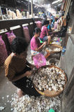 WOman Worker in Indonesia Stock Photos