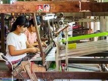 Woman workers in Mandalay, Myanmar 2 Royalty Free Stock Photo