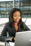 Woman working Royalty Free Stock Photography