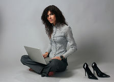 Woman working Stock Photos