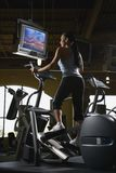 Woman working out. Stock Photography