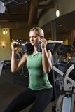 A woman working out. Stock Images