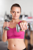Woman Working Out Stock Photos