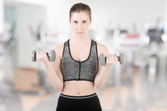 Woman Working Out Royalty Free Stock Photo