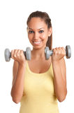 Woman Working Out Royalty Free Stock Images