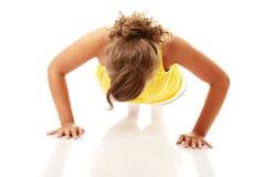 Woman workout Stock Photos