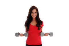 Woman Workout Royalty Free Stock Photography