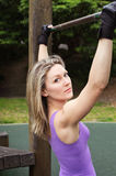 Woman workout Royalty Free Stock Images