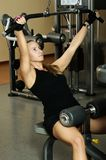 Woman workout at gym Royalty Free Stock Photo