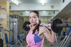 Woman workout Stock Photo