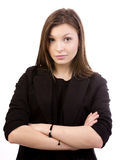 Woman worrying Stock Image