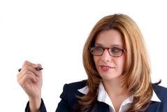 Woman Writing Royalty Free Stock Image