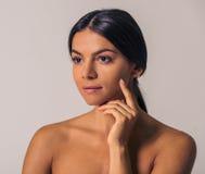 Woman& x27; bellezza naturale di s Immagini Stock Libere da Diritti