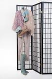 Woman& x27; s-kläder Arkivfoto