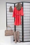 Woman& x27; s-Kleidung Lizenzfreies Stockfoto