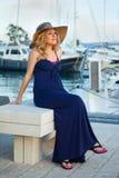 Woman&yachts-006 Zdjęcie Stock