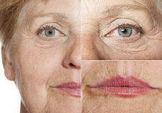 Woman (67 years old) Royalty Free Stock Photography