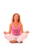 woman yoga Royalty Free Stock Photo