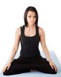 Woman yoga Stock Image