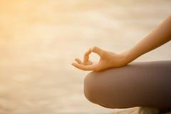 Woman Yoga Royalty Free Stock Photos